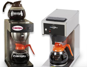 Decanter Coffee Brewers& Warmers