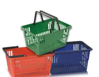 Polypropylène, paniers de magasinage