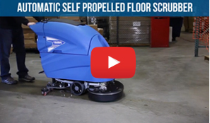 Traction Drive Self-Propelled Scrubbers