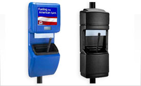 Waste Receptacle & Windshield Centers
