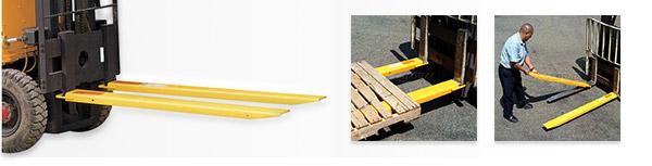 Extensions de chariot élévateur à fourche Fork