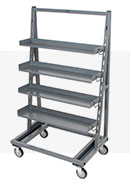 Adjustable Steel Tray Trucks Bellman Carts