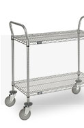 Wire Shelf Trucks & Utility Carts