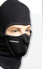 Masques de visage de temps froid