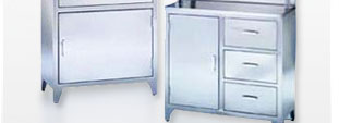 Freestanding Medical Cabinets
