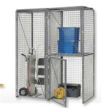 Wire Mesh Storage Lockers