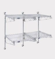 Wall Mount Adjustable Wire Shelving Units