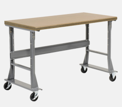 Mobile Flared Leg Fixed Height Workbenches