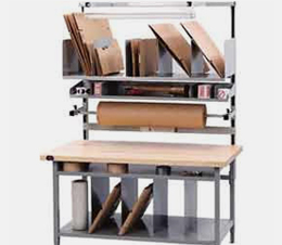Packing Workbench with Riser