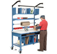 Mobile Complete Packing Bench with Electric