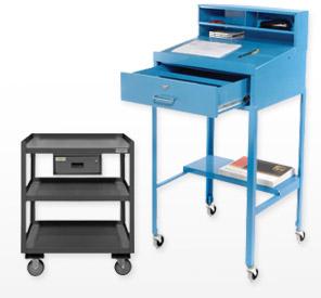 Mobile Open Base Shop Desks
