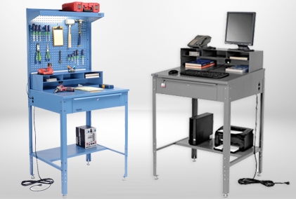 Free Standing Shop and Receiving Desks