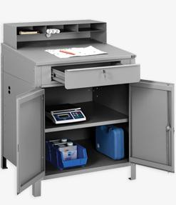 Enclosed Cabinet Receiving Desks