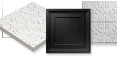 Ceiling Tiles & Grid Framing