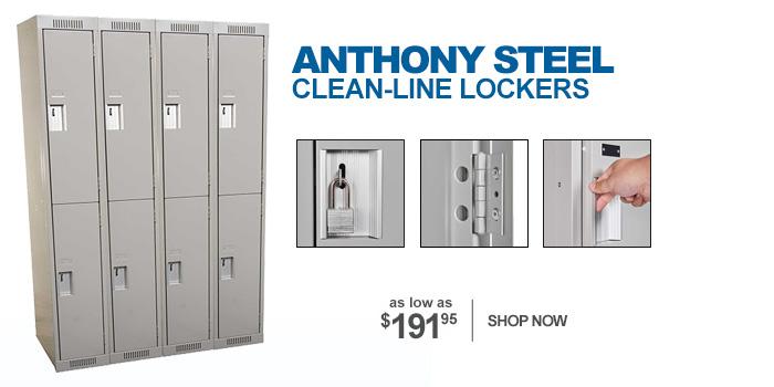 Anthony Steel Lockers - as low as $191.95