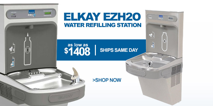 Elkay® ezH2O® Wall Mounted Water Bottle Refilling Stations - as low as $1408
