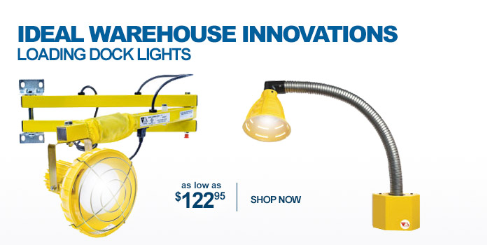 Ideal Warehouse Innovations Loading Dock Lights - as low as $122.95