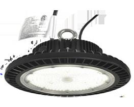 Éclairage LED ronde baie