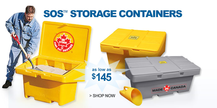 SOS™ Storage Containers - as low as $145
