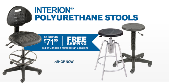 Interion® Polyurethane Stools - as low as $71.95