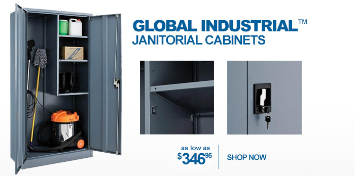 Global Industrial™ Janitorial Cabinets - as low as $862