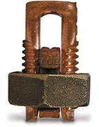 Connecteurs de cuivre Split boulon