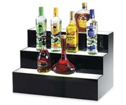 Boissons alcoolisées affichage élévateurs