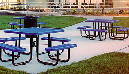 Premium Steel Picnic Tables