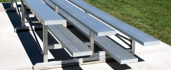 Gradins en aluminium