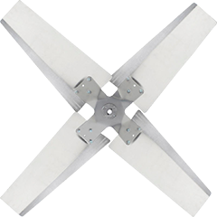 Steel Fan Blades