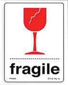Étiquettes de fragiles