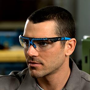 Uvex par Honeywell Half Frame Safety Glasses