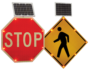 Signes de circulation LED