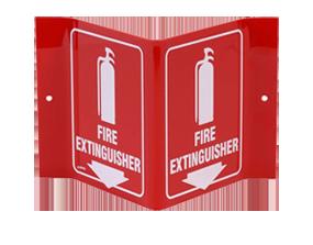 Signes d'incendie et de situation d'urgence