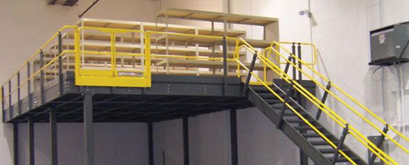 Mezzanines & escaliers