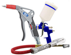Blow Guns, Spray Guns, Inflation Tools