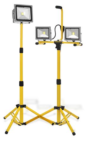 Phares de travail de LED portable