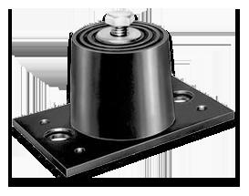 Isolateurs de Vibration de la monture pour le plancher en néoprène