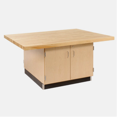 Maple Storage Cabinet Workbenches