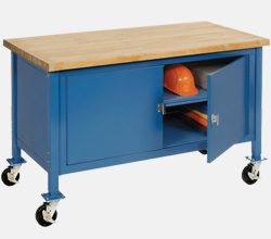 Mobile Heavy Duty Security Cabinet Benches
