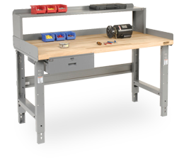 Pre-Configured Open Leg Height Adjustable Workbenches
