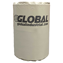 Global Industrial™ Blanket Heater s'adapte à 55 Gal Drum Température réglable