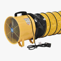 Ventilateurs de ventilation d'espace confinés
