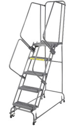 Industrial Steel Rolling Ladders