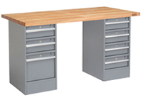 Pedestal Workbenches