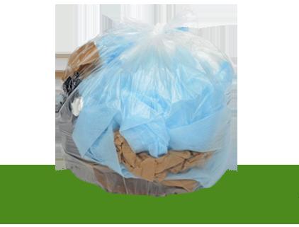 Sacs à ordures à haute densité