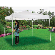 Outdoor tents and canopies