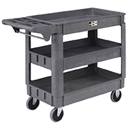 Plastic Service & Utility Carts